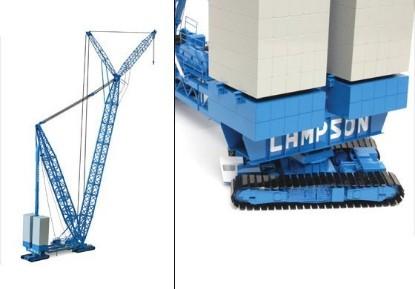 Picture of Lampson LTL2600 crawler crane