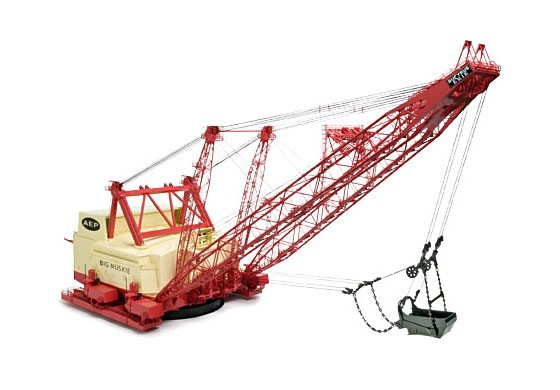 Picture of Bucyrus-Erie 4250w walking dragline Big Muskie