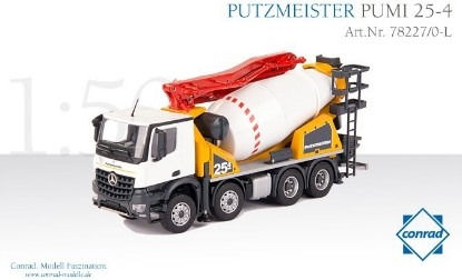 Picture of Putzmeister Pumi 25-4 concrete mixer/pump4x MB