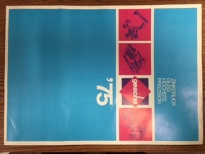 Picture of Gescha 1975 color catalog (pre Conrad)