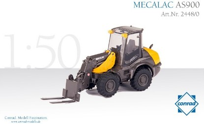 Picture of MECALAC AS 900 Swiveling loader