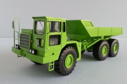 Picture of Euclid A-464 Articulated Dump Truck