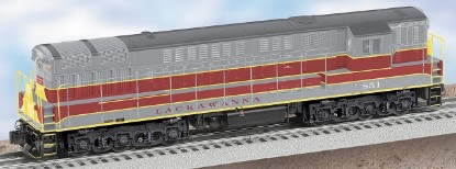 Picture of Diesel Locomotive LACKAWANNA non-power