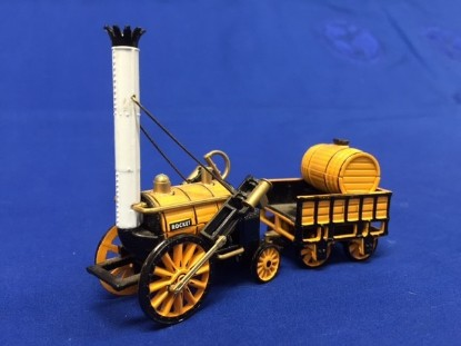 Picture of Stephenson's Rocket steam vehicle