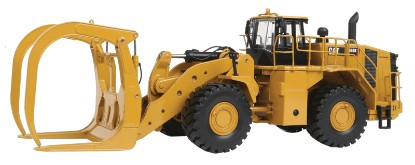 Picture of Caterpillar 988K high capacity grapple log loader