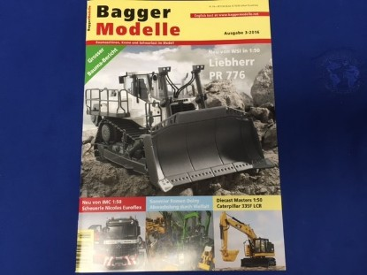 Picture of Baggermodelle 3-2016 German- English download