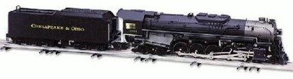 Picture of CHESAPEAKE & OHIO SCALE 2-10-4 CLASS T-4
