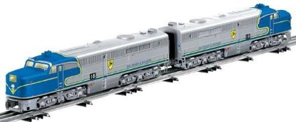 Picture of ALCO PA AA Diesel Set -DELAWARE & HUDSON