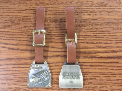 Picture of Bucyrus-Erie 88B Series 3 watch fob brass finish