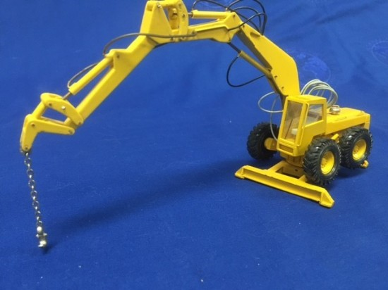 Picture of Pingon Sitting Bull 120/14C wheel excavator + lift hook