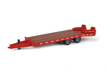 Picture of Beavertail trailer  red