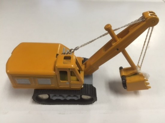 Picture of Demag cable shovel yellow