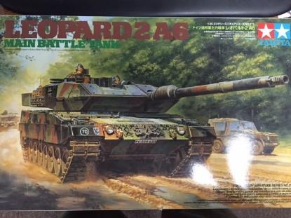 Picture of Leopard 2 A6 main battle tank
