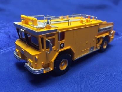 Picture of Walter CB3000 fire crash truck orange