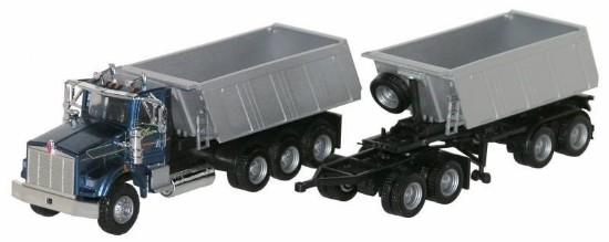 Buffalo Road Imports. Kenworth T-800 Dump Truck with TrailerKenworth Dump Trucks Graphics