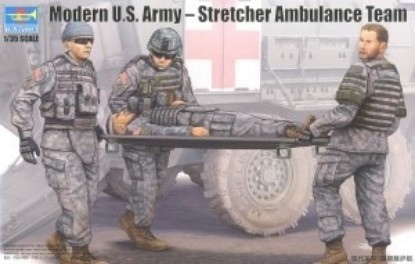 Picture of Modern U.S. Army - Stretcher Ambulance Team
