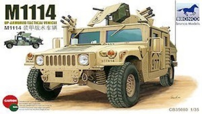 Picture of M1114 Up-armored Tactical Vehicle