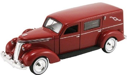 Picture of 1937 Studebaker Hearse (Maroon)