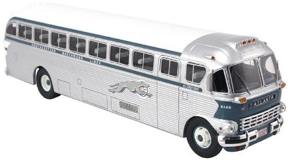 Picture of 1948 ACF Brill IC41 Coach Southeastern Greyhound Bus Atlanta, GA #2165