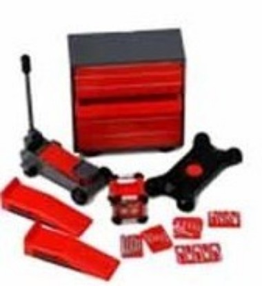 Picture of Garage Accessories: Tool Chest, Hand Tools, Creeper, Jack, Ramps, Generator