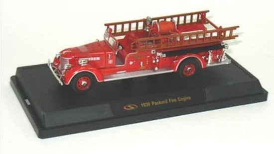 Picture of 1939 Packard Fire Engine Pumper - red