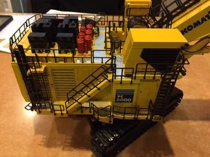 Picture of Komatsu PC8000-6 mining shovel Diesel