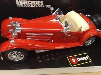 Picture of 1936 Mercedes Benz 500K Roadster - Red Convertible