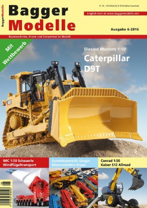 Picture of Baggermodelle 6-2016 German- English download