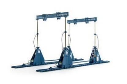 Picture of Sarens 720 ton lifting frame