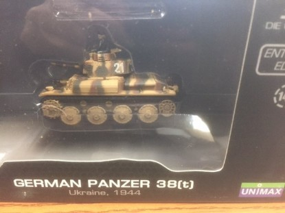 Picture of German Panzer 38(t) Ukraine 1944