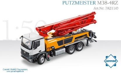 Picture of MB Arocs Putzmeister M38-5 RZ concrete pump
