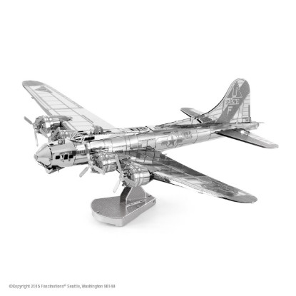 Picture of B-17 flying Fortress