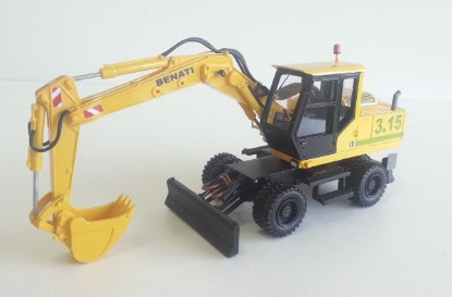 Picture of Benati 3.15 wheel excavator