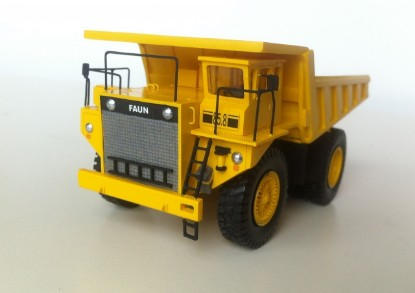 Picture of Faun K85.8 mine dump yellow
