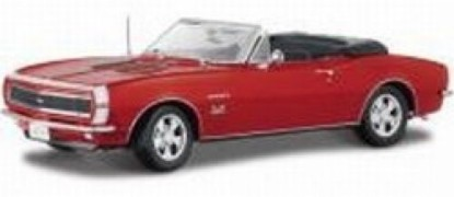 Picture of 1967 Chevrolet Camaro SS 396 Convertible - red