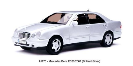 Picture of 2001 Mercedes Benz E320 - Brilliant Silver