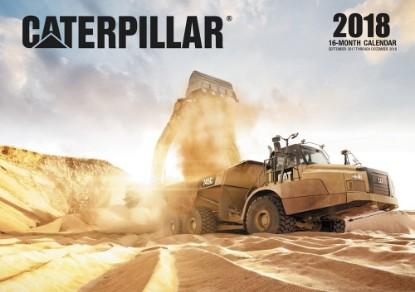 Picture of Caterpillar 2018 Calendar