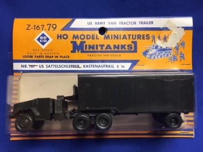 Picture of GMC semi container truck