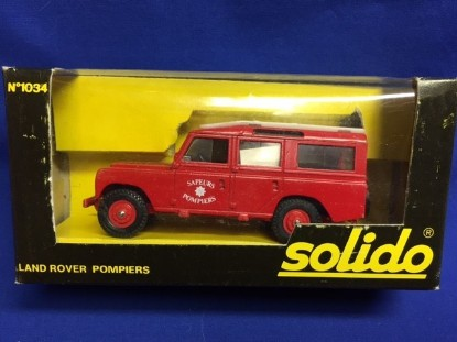 Picture of Land Rover fire  red