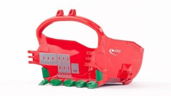 Picture of ESCO 155cu/yd ProFill Dragline Bucket : RED