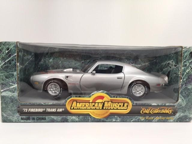 1973 Pontiac Firebird Trans Am Silver
