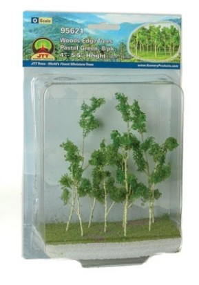 "Picture of Woods Edge Trees -- Pastel Green 4 to 5-1/2"" pkg(8)"