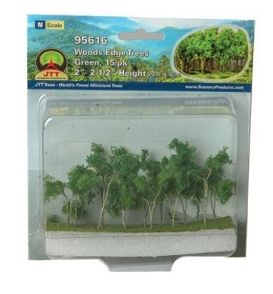 "Picture of Woods Edge Trees -- Green 2 to 2-1/2"" pkg(15)"