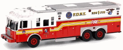 Picture of Saulsbury F.D.N.Y.  fire Rescue Truck #1