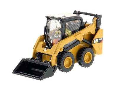 Picture of Caterpillar 242D skid steer loader + 4 attachments