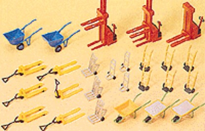 Picture of Forklifts & Wheelbarrows -- pkg(26)