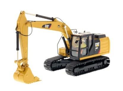 Picture of Caterpillar 320F track excavator