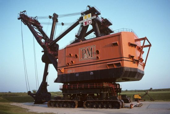 Picture of Bucyrus-Erie 1850B super stripping shovel BRUTUS