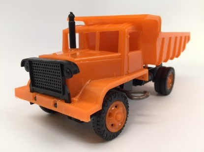 Picture of Euclid 15 ton rear dump truck - orange