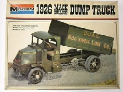 Picture of 1926 Mack Bulldog Dump Truck